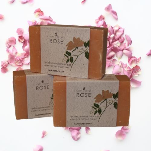 Fairtrade rozen zeep