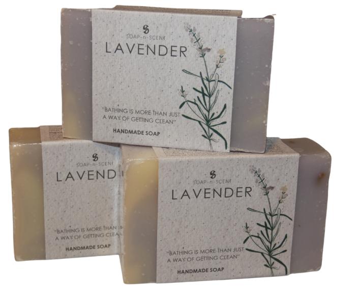 lavendel zeep handgemaakt