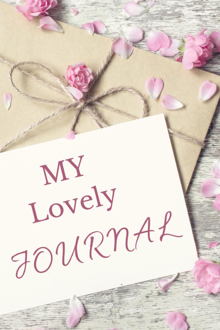 My lovely Journal papieren versie